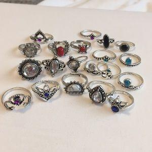 Jewelry - cute gem rings